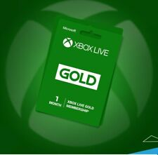 Xbox live 1 month gold membership Delivery from 1 hour  Xbox one and Xbox 360