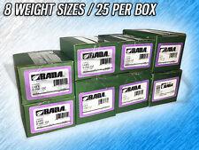 BADA LHFE L COATED STEEL WHEEL WEIGHTS - .25 - 2.00 OZ. - 200 TOTAL WEIGHTS