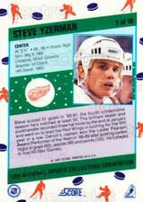 1991 Score National #7 Steve Yzerman