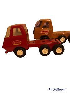 Vintage Pressed Steel  BUDDY L & TONKA Bobtail Trucks