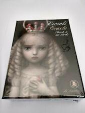 jeu de cartes oracle Ceccoli 32 cartes + livret neuf sous emballage en Français