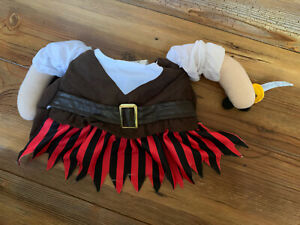 Small Dog Pirate Costume Size Small Halloween Cosplay Funny