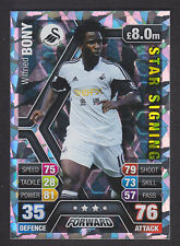 Match Attax 2013/14 - Star Signing - 306 Wilfried Bony - Swansea