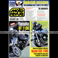 MOTO REVUE N°3476 ★ YAMAHA BT 1100 BULLDOG ★ SUZUKI GSX 1400 ★ TECHNIQUE GP 2001