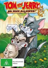 Tom And Jerry: No Mice Allowed NEW R4 DVD