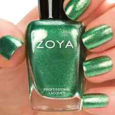 ZOYA ZP674 RIKKI green metallic nail polish lacquer~IRRESISTIBLE Collection .5oz