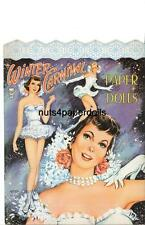 Vintage Uncut Winter Carnival Paper Dolls Hd~Laser Reproduction~Pretty Lo Pric