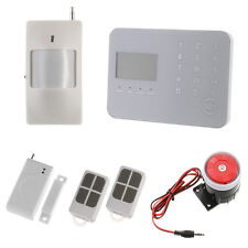 Touch Keypad GSM PSTN Home Wireless Security Alarm System Burglar APP Control
