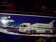 1999 HESS SPACE SHUTTLE w/ SATELLITE and TOY TRUCK new in box FREE SHIPPING USA