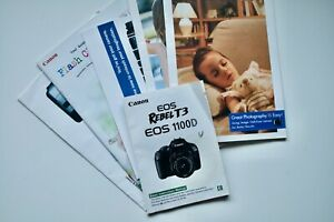 CANON EOS REBEL T3 EOS 1100D Manuals In ENGLISH