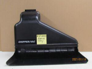 TROY BILT CHIPPER VAC RAKE IN TRAY USED fit 4HP & 5HP & 8HP MODELS 47768 1901114
