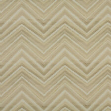 A0105C Beige Tan Taupe Chevron Woven Outdoor Upholstery Fabric By The Yard