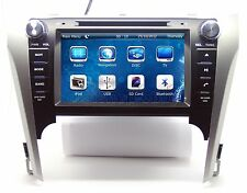 """8"""" In Dash 2 Din AutoRadio Car Stereo DVD Player GPS Navigation For Toyota Camry"""