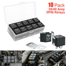 10PACK 12V 40/30A 5pin Bosch Automotive Relays SPDT for Jeep Truck Boat ATV UTV