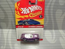 2007 HOT WHEELS CLASSICS  series 3  #24 = `70 PLYMOUTH BARRACUDA = Purple