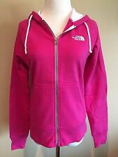 NWT Women's Pink The North Face Long Sleeve Lightweight Full Zip Hoodie Small