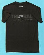 Tribal Gear Streetwear Men's Small SS Logo T-Shirt Black NWT