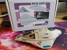 Star Trek VOYAGER 3D printed DELTA FLYER MODEL KIT 21cm 1:100 Scale plus Decals!
