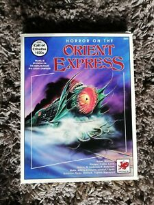 Horror on the Orient Express, Call of Cthulhu RPG, 1st Edition. VGC