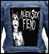 ALIEN SEX FIEND --- Giant Backpatch Back Patch