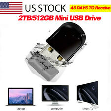 Thumb U Disk Memory Storage PC Laptop Mini USB Flash Drive Pen Drive 2TB 512GB