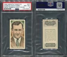 1935 ARDATH TOBACCO CRICKET, TENNIS & GOLF #47 CHARLES WHITCOMBE PSA 8 (8241)