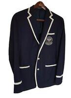 Mens POLO RALPH LAUREN Wimbledon Umpire wool blazer/jacket. Size 40L RRP £895.