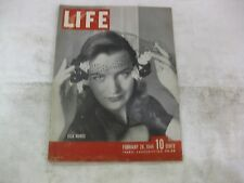 Life Magazine February 28th 1944 Weekly Published By Time        mg7
