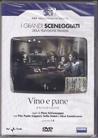 2 DVD Caja Serie Del Drama Rai Vino Y Pan Nino Castelnuovo Completa Nuevo 1973