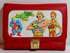 MOTU VTG 80's HE-MAN TEELA RED PENCIL CASE STATIONERY MADE IN GREECE VERY RARE