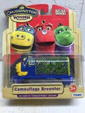 Chuggington Wooden Railway CAMOFLAGE BREWSTER LC56042