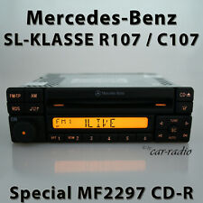 Original Mercedes R107 Sl-Class C107 Special CD MF2297 Cd-R Car Radio Special