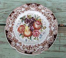 "Johnson Brothers England Windsor Ware Harvest Fruit 8"" Salad Plate"