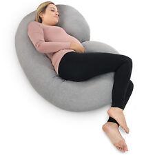 PharMeDoc Pregnancy Pillow - Maternity Full Body Pillow for Pregnant Women