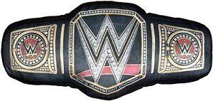 WWE Cushion / Pillow Polyester, 48 x 23cm World Wrestling Entertainment Belt