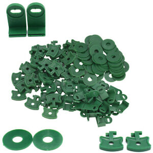 Greenhouse Extenders Clips for Fixing Insulation Bubble Wrap Sunshade Netting
