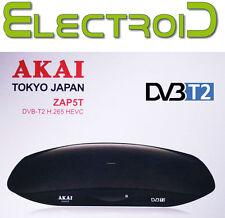 DECODER DIGITALE TERRESTRE DVB-T2 AKAI ZAP5T RICERCA CANALI AUTOMATICA E MANUALE