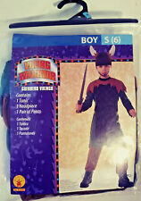 VIKING WARRIOR HALLOWEEN COSTUME BY RUBIES BOY SMALL (6) FREE FAST SHIPPING NEW!