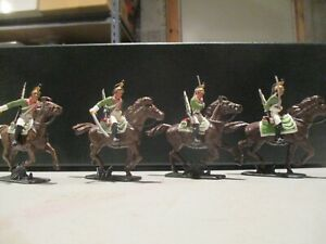 A Call to Arms 1/35th scale plastic painted Napoleonic French Dragoons #1