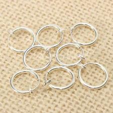 GN- 8x finto piercing MOLLA SETTO Cerchio per naso labbro orecchio anello clip
