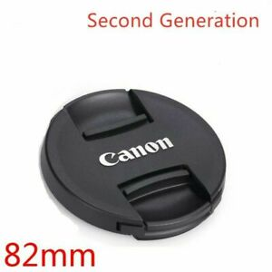 NEW Generation Canon Snap On Front Lens Cap ABS Dust-proof Lens Cover 82mm