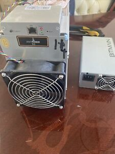 Bitmain Antminer D3  X11 Miner With 1600w Bitmain Psu Blizz Firmware Installed
