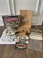STAR WARS SNOWSPEEDER UNUSED DECALS INSERT MIB PINK BOX KENNER VINTAGE 1980 ESB