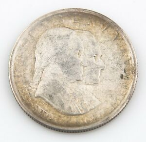 1926 50¢ Sesquicentennial Silver Commemorative, XF Condition, Some Rim Toning