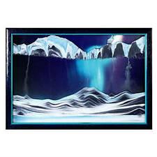 Aurora Borealis Sand Art Unique Desk-Top