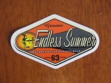 ENDLESS SUMMER VINTAGE NOS Surf Surfing Skateboard Woodie Woody Sticker Decal