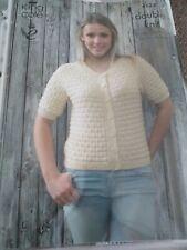 King Cole DK Ladies Girls Knitting Pattern Cardigan Top 4124