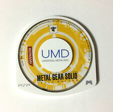 USED PSP Disc Only METAL GEAR SOLID PEACE WALKER JAPAN Sony PlayStation Portable
