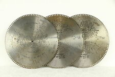 """Regina Music Box 3 Antique 15 1/2"""" Disks, The Campbell's Are Coming #30771"""