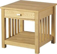 Ashmore 1 Drawer Lamp Table in Ash Veneer